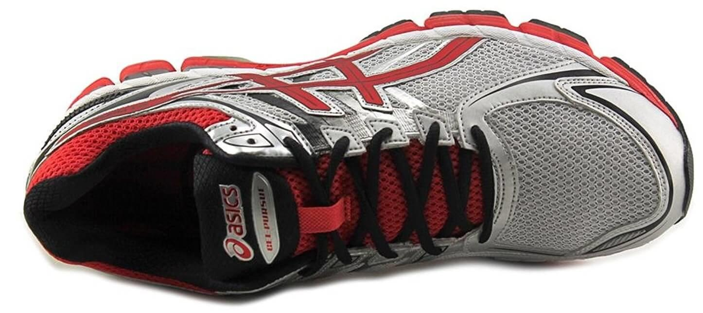 A top view of the Asics Gel Pursue 2