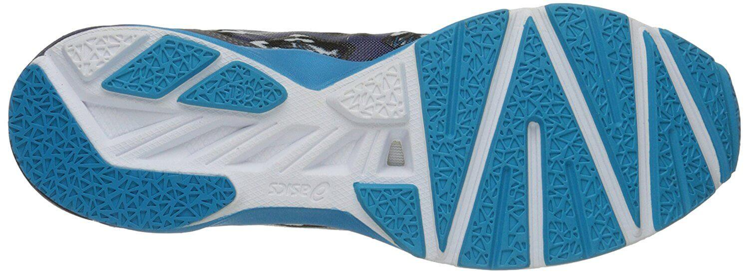 A bottom view of the Asics Hyper Tri