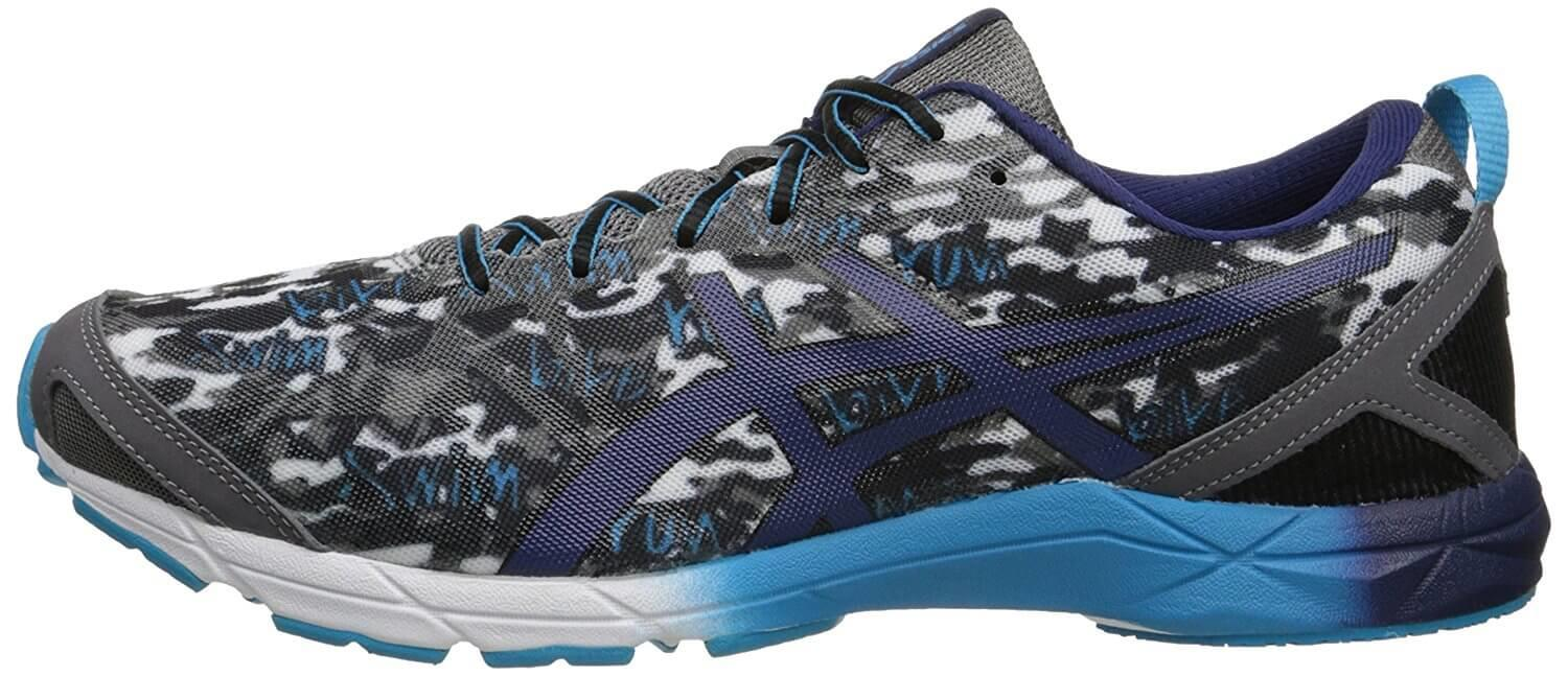 A side view of the Asics Hyper Tri