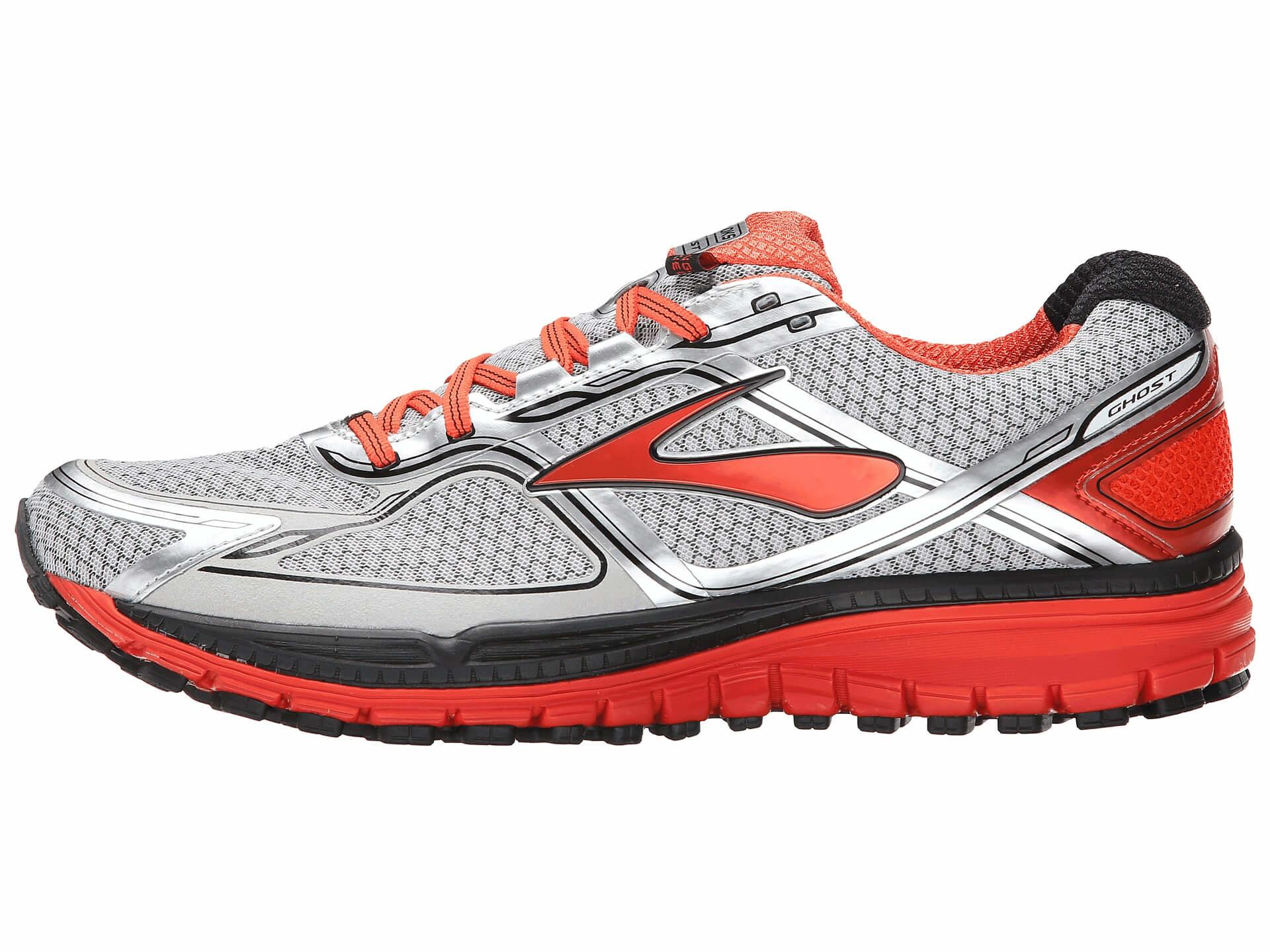 Brooks Ghost 8 GTX Left to Right