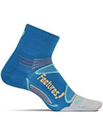 10. Feetures Elite Merino Plus Ultra Light Quarter