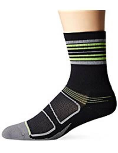 9. Feetures Elite Light Cushion Mini Crew Athletic