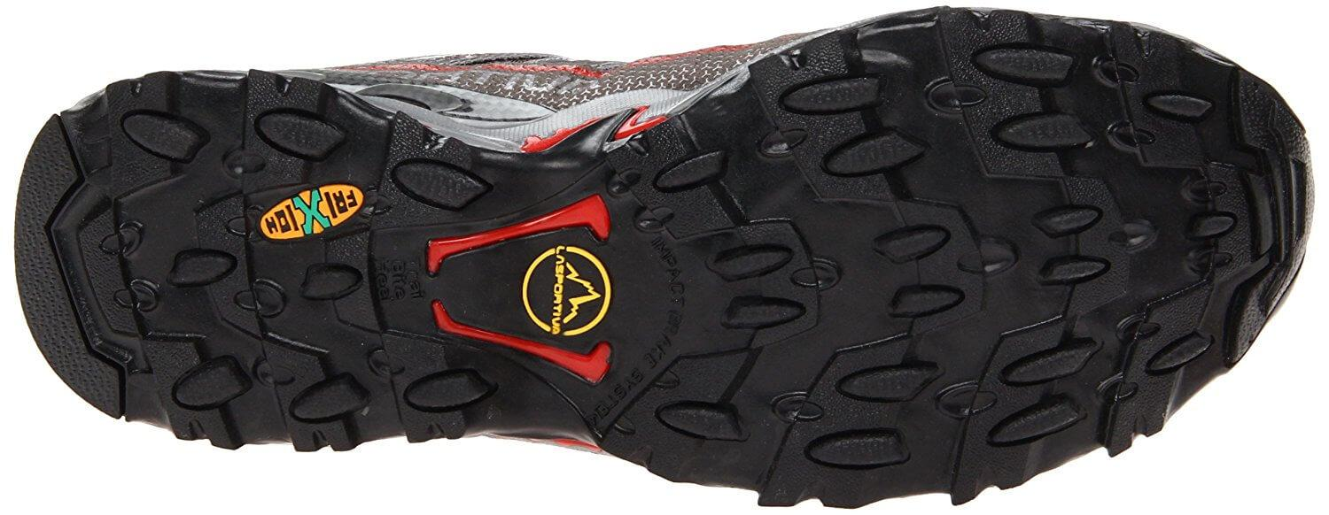 A bottom view of the La Sportiva Ultra Raptor GTX