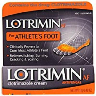 Lotrimin Anti-Fungal Clotrimazole Cream