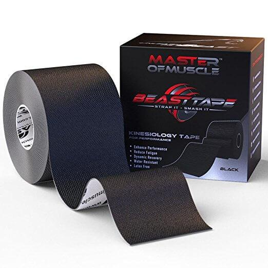 Muscle-Strain-Master of Muscle Kinesiology Tape-Treatment
