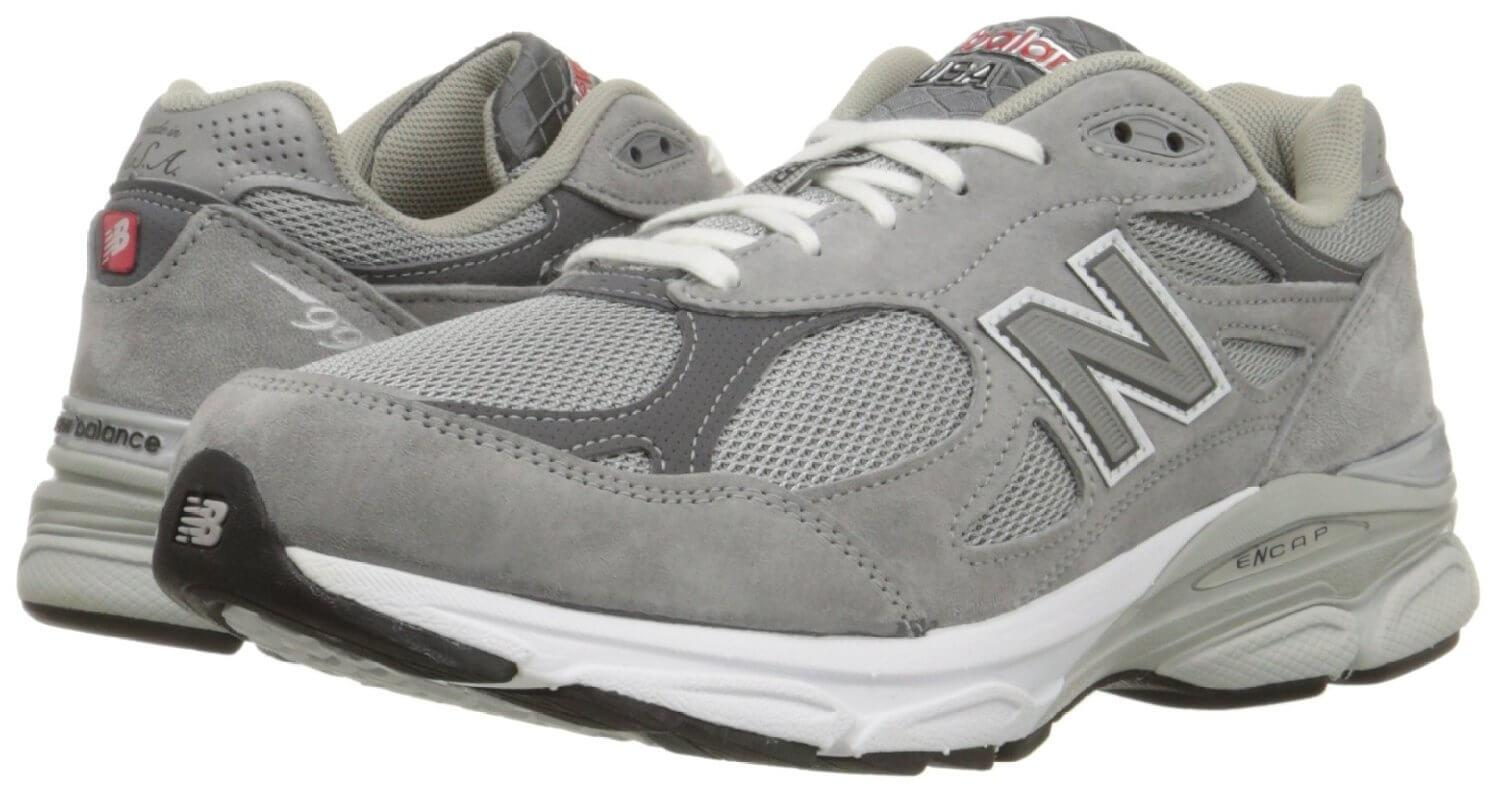 ... A pair of the New Balance 990v3 running shoes