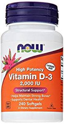 NOW Foods Vitamin D-3 Softgels