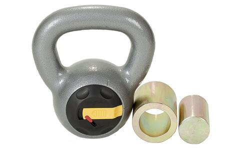10. Rocketlok Adjustable Kettlebell