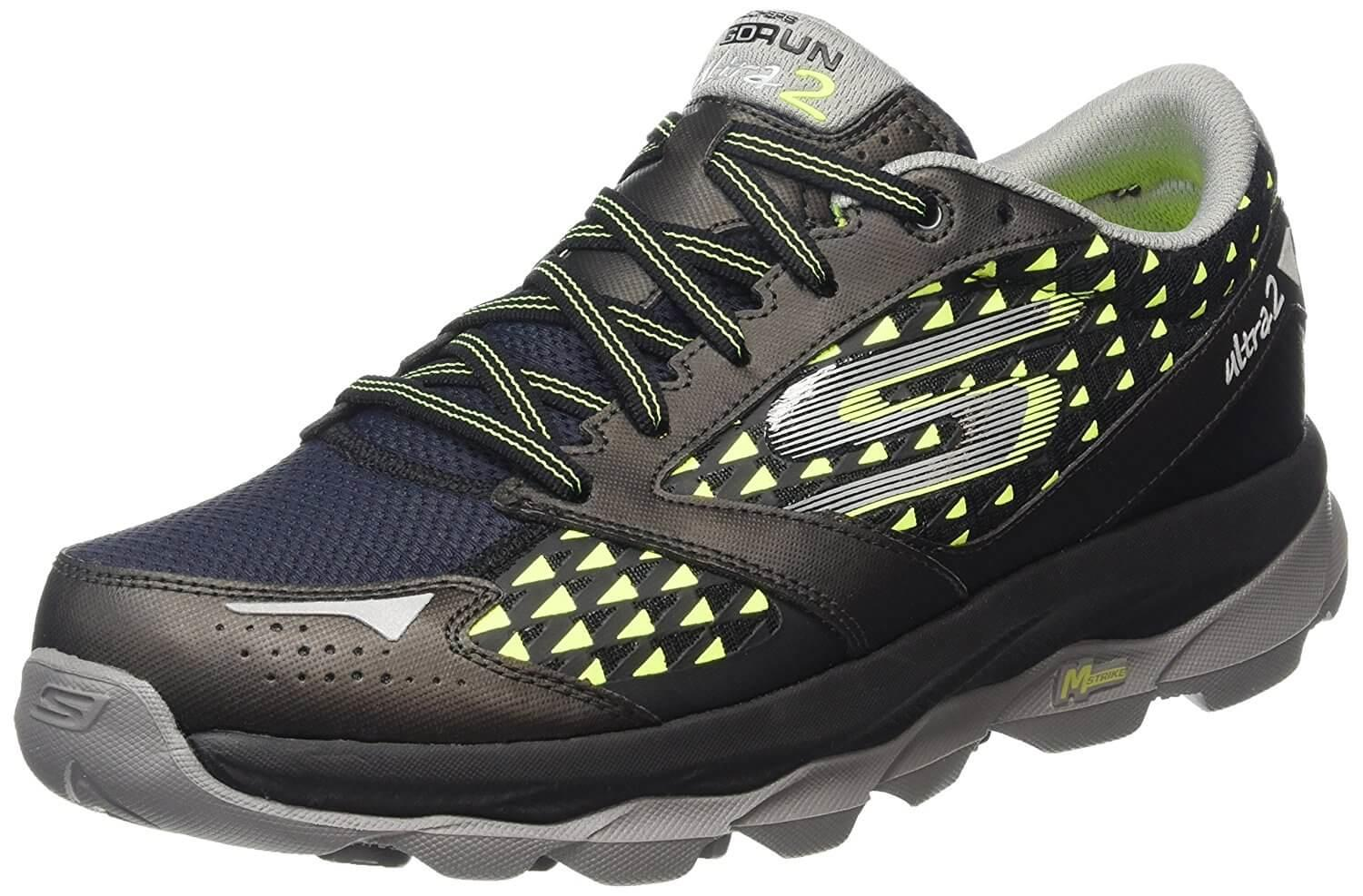 A three quarter view of the Skechers GOrun Ultra 2