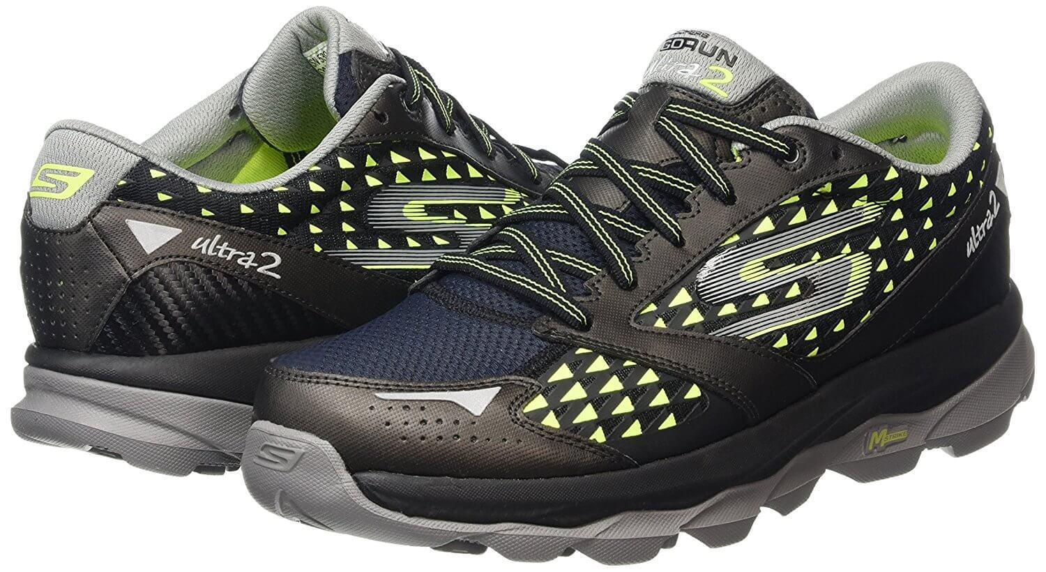 A pair of the Skechers GOrun Ultra 2 Running Shoes