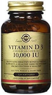 Solgar Vitamin D3 Softgels