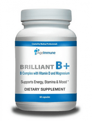 Brilliant B+ B Complex with Vitamin D and Magnesium