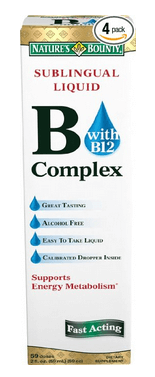 Nature's Bounty Vitamin B Complex with B12