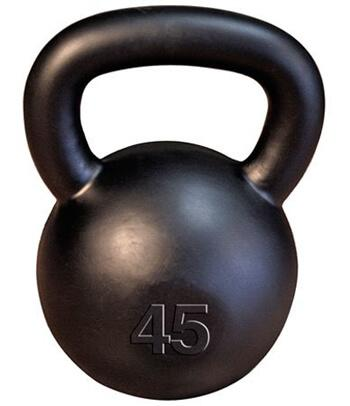 9. Body Solid Iron Kettlebell