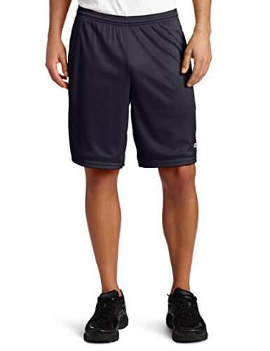 1. Champion Men's Long Mesh Shorts with Pockets