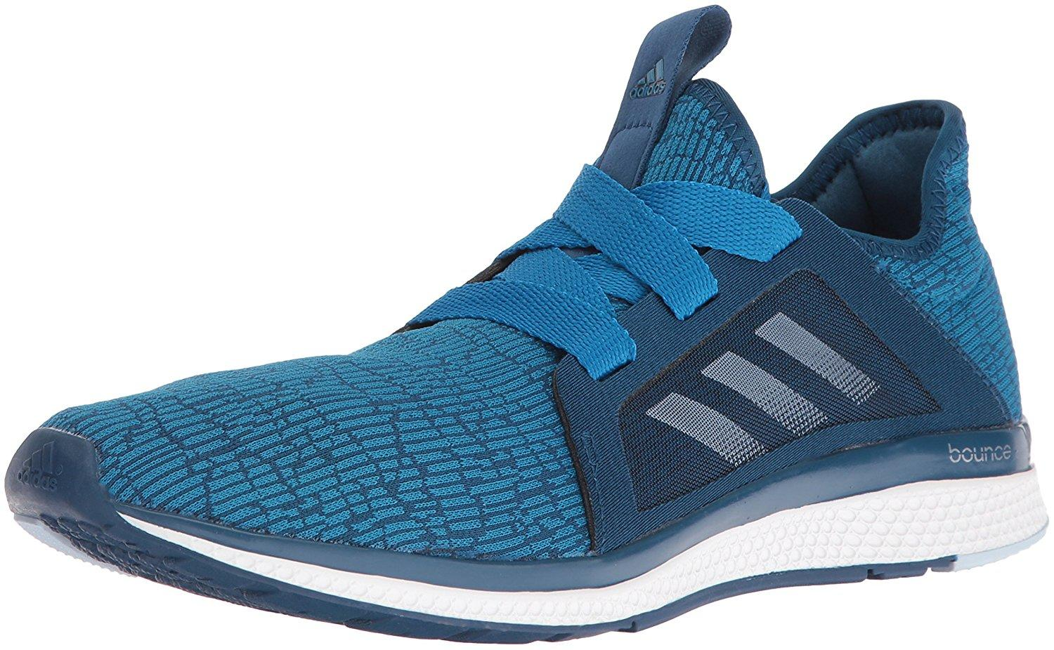 A three quarter view of the Adidas Edge Lux