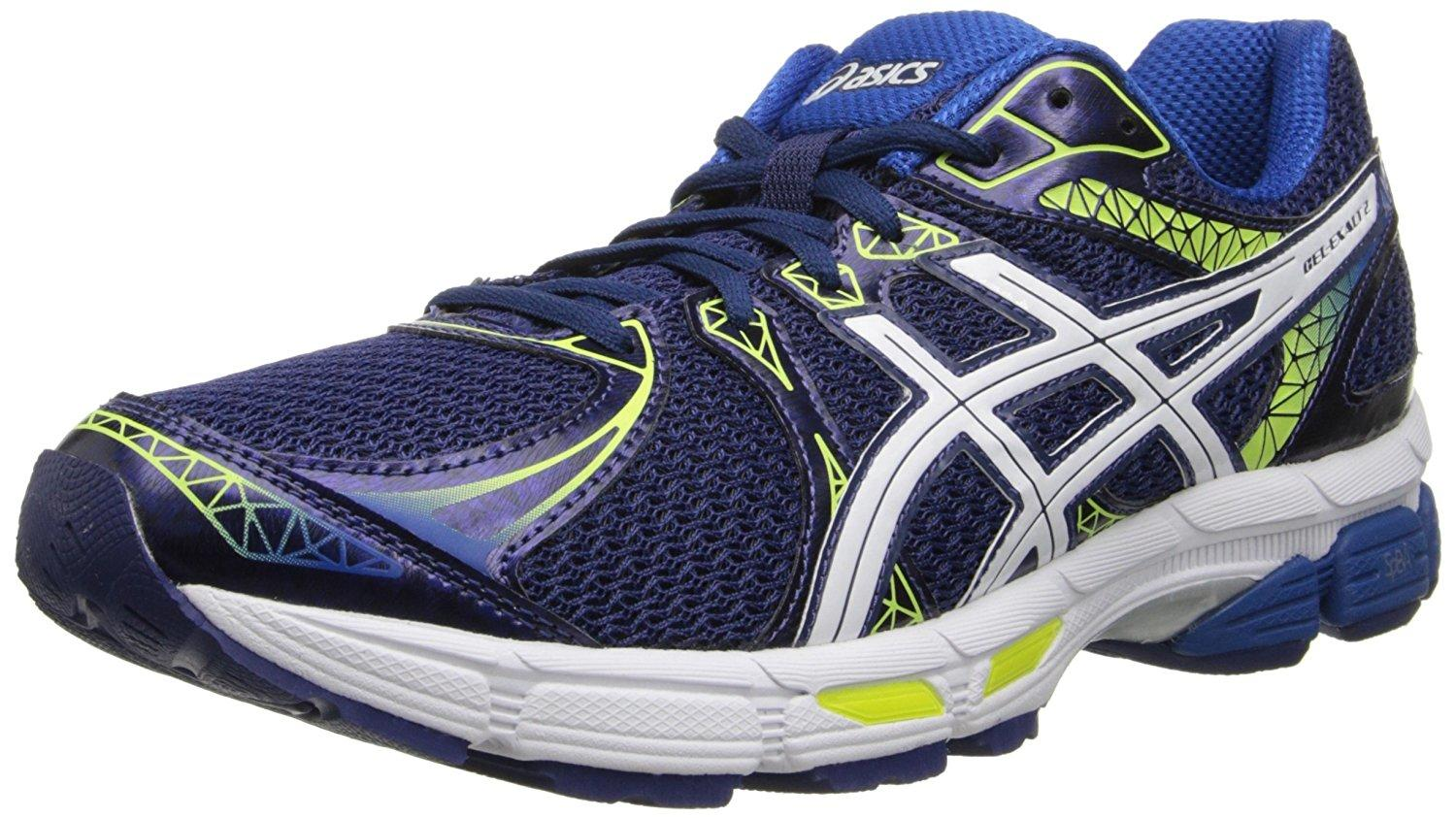 A three quarter perspective of the ASICS Gel Exalt 2 running shoe