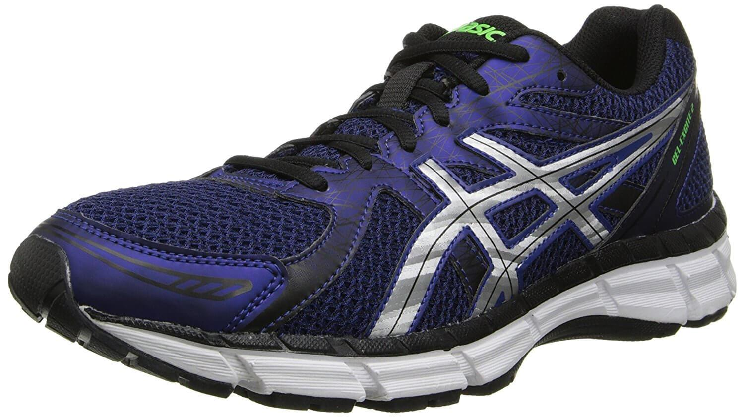 A three quarter view of the Asics Gel Excite 2 ...
