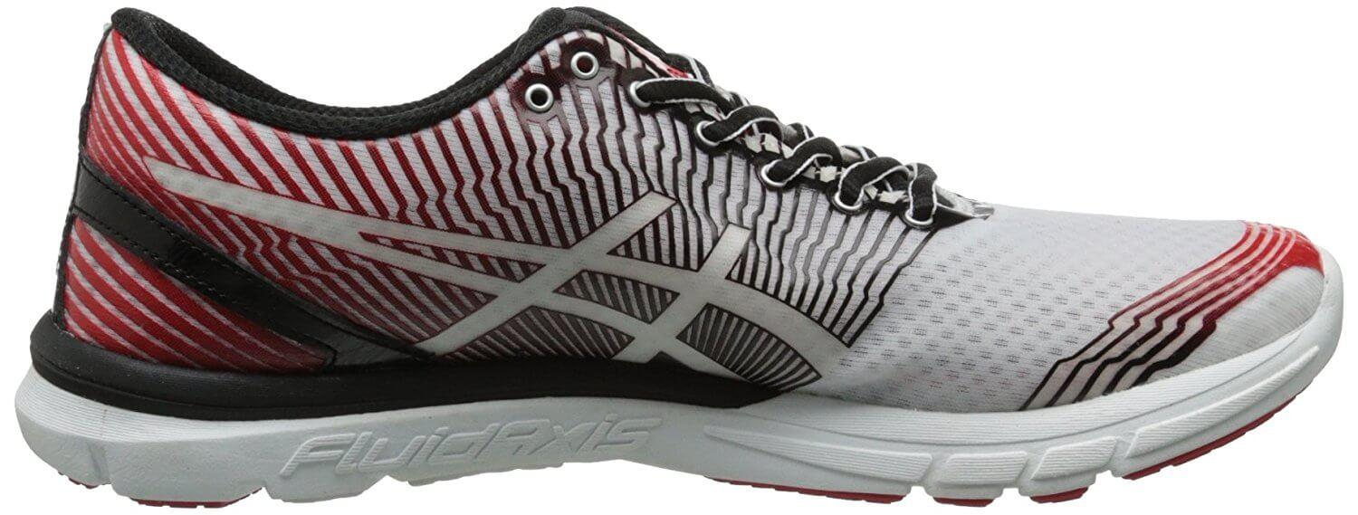 A medial side view of the Asics Gel Lyte33-3