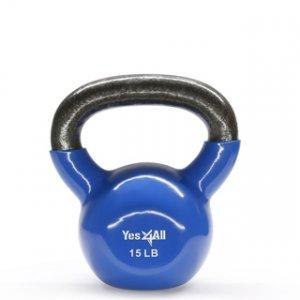 Kettlebell home workout equipment