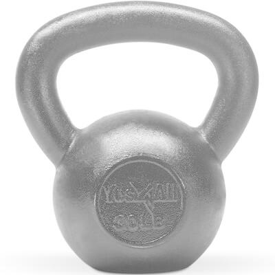 5. Yes4All Solid Cast Iron Kettlebell