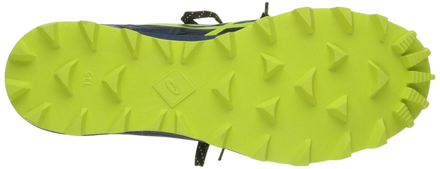 The FujiRunnegade 2 features aggressive lugs, perfect for the trails.