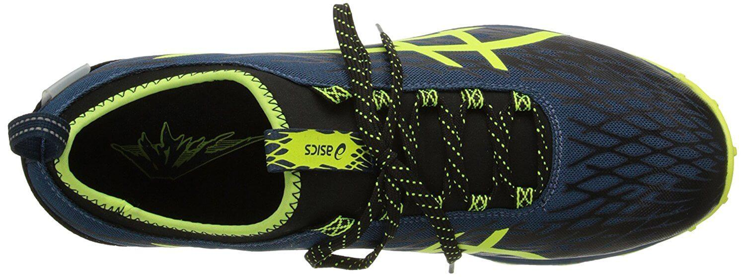 Here is a view of the mesh upper