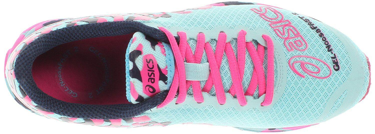 ASICS Gel Noosa Fast 2 Secure yet quick lacing system