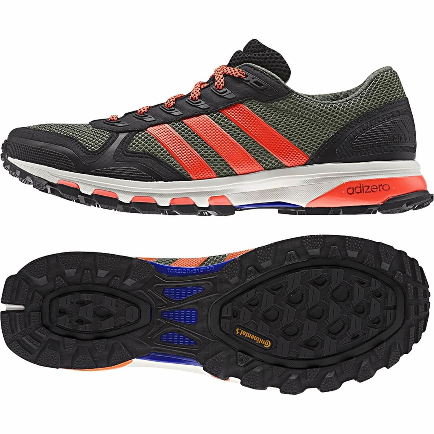 Adidas Adizero XT 5 excellent traction on the trail