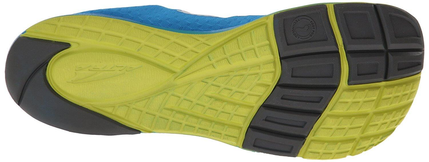 the Altra Impulse uses Foot Pod Technology so its treads follow the shape of the bones and tendons in the foot