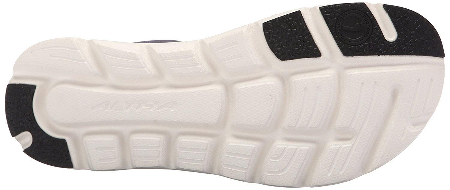 Altra One flexible grooved sole