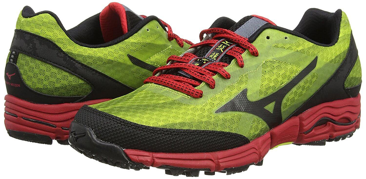 Bright colors make the Mizuno WAve Mujin stand out