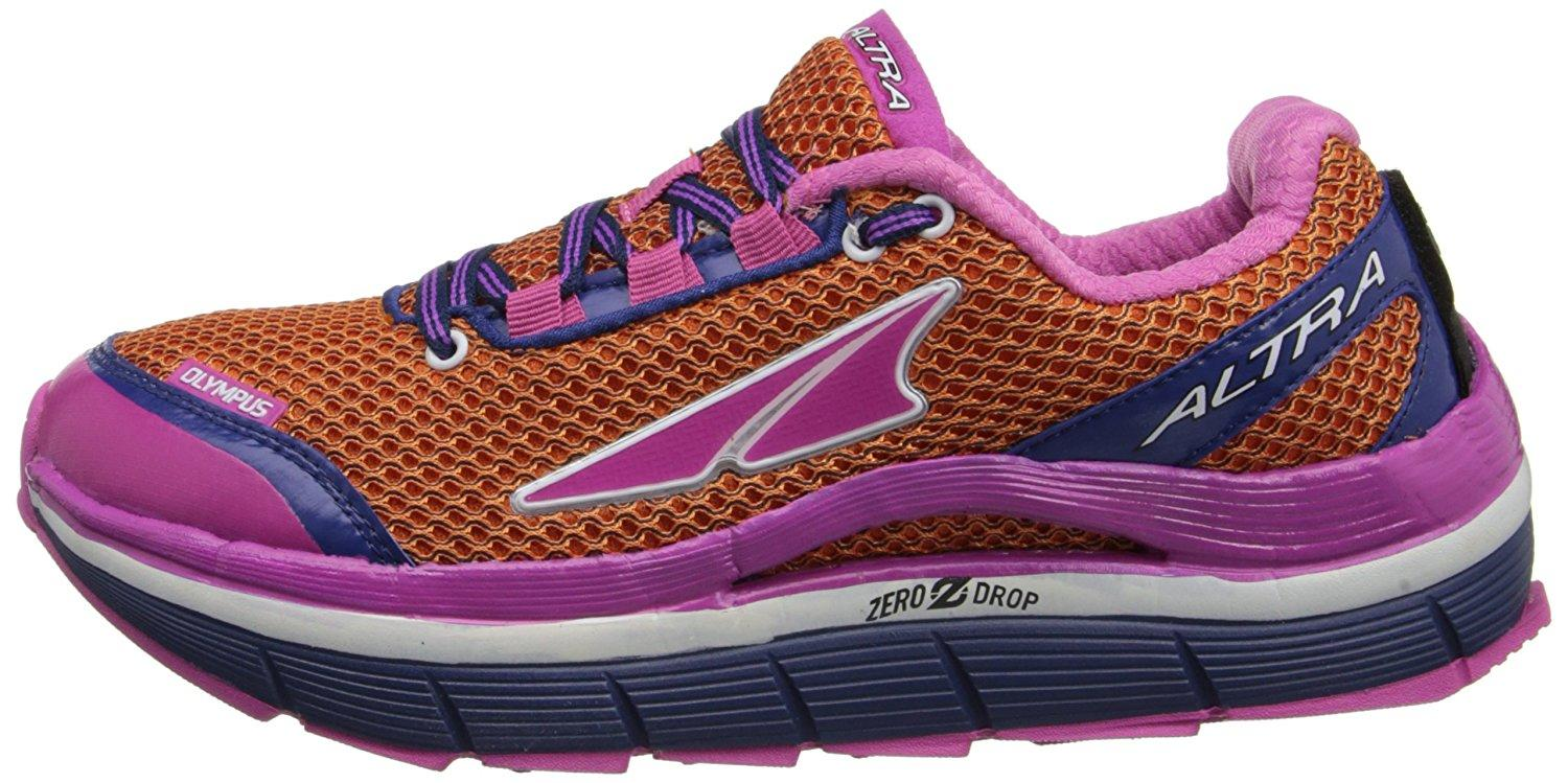 Cushioned and protective midsole of the Altra Olympus