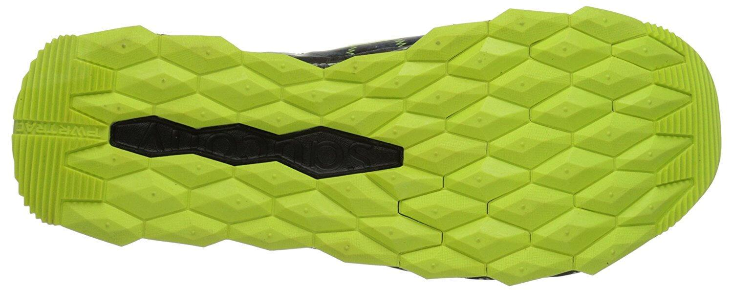 Saucony Nomad TR high traction sole