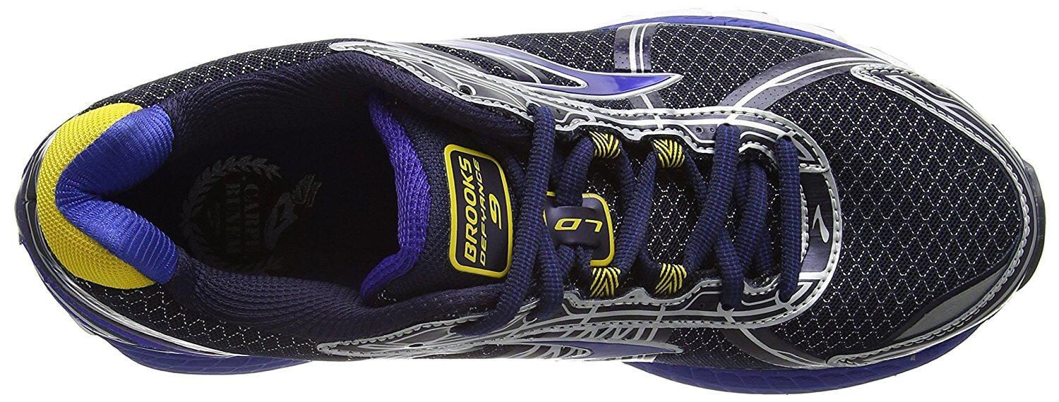 Here is a look at the upper of the Defyance 9.