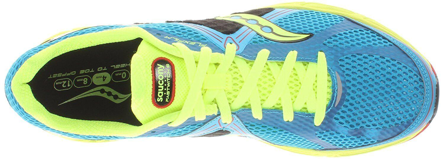Saucony Fastwitch 6 is offered in a variety of bright colors.