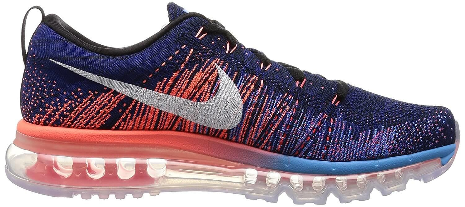 Here's the profile of the Nike Flyknit Air Max 2015.