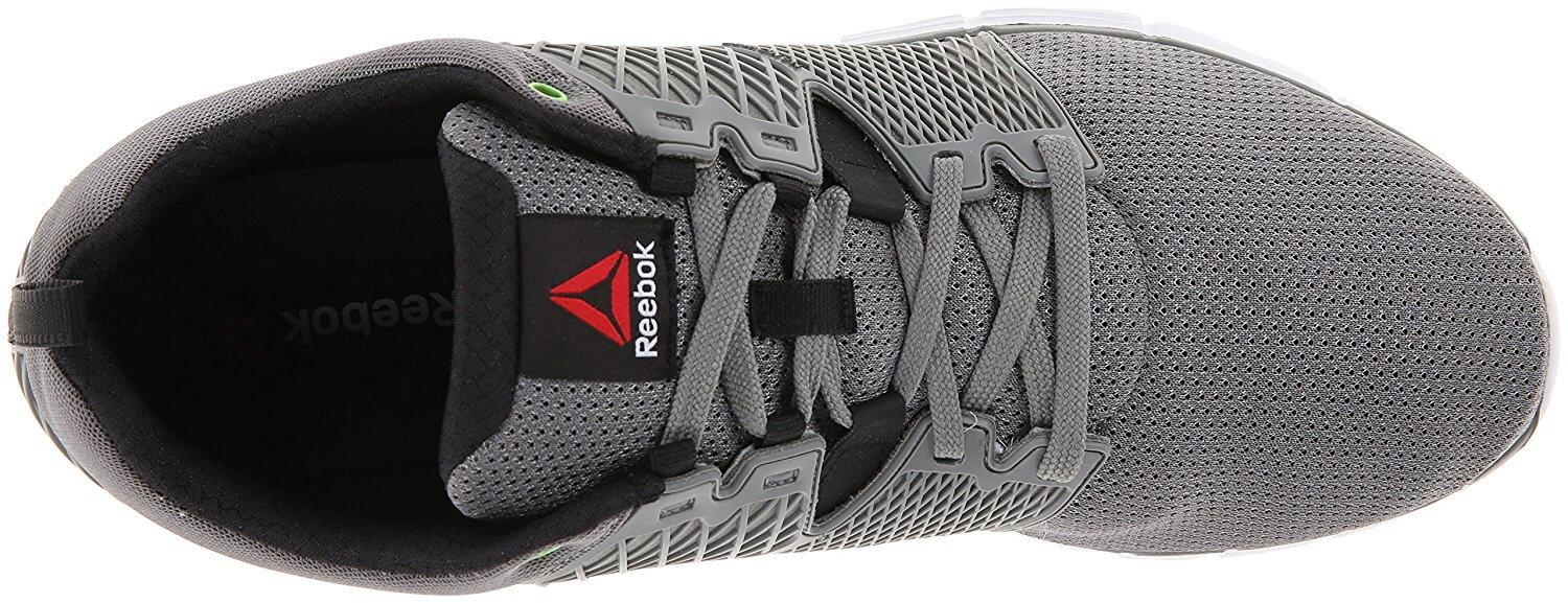 Reebok Zquick Secure lacing system and breathable upper