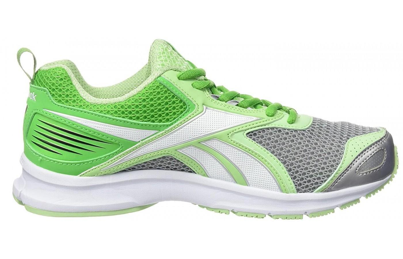 The outsole of the Reebok TripleHall 5.0 works well on roads and treadmills