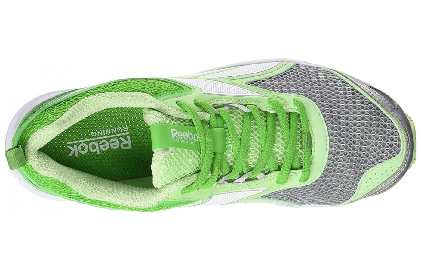 Here is a look at the breathable mesh upper of the Reebok TripleHall 5.0