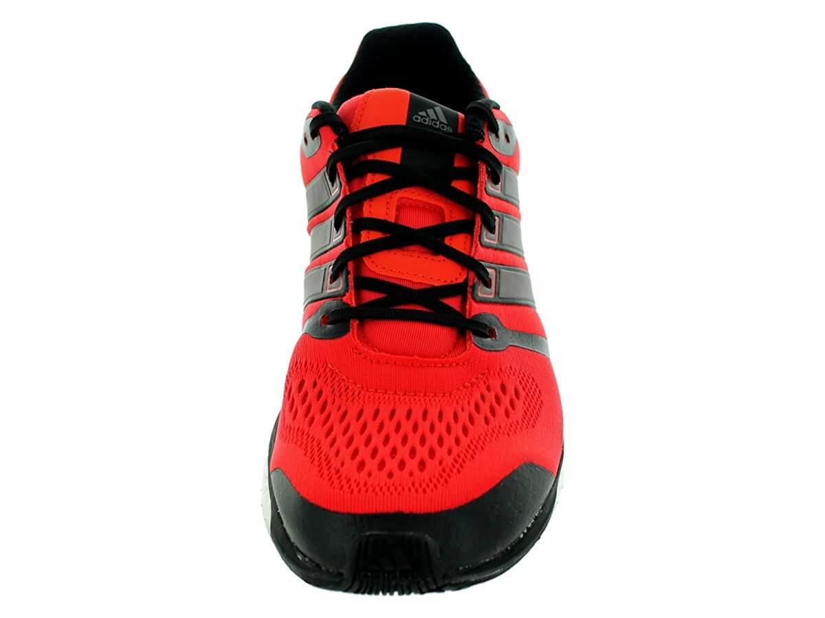 Adidas Adistar Boost ESM secure lacing system and seamless upper