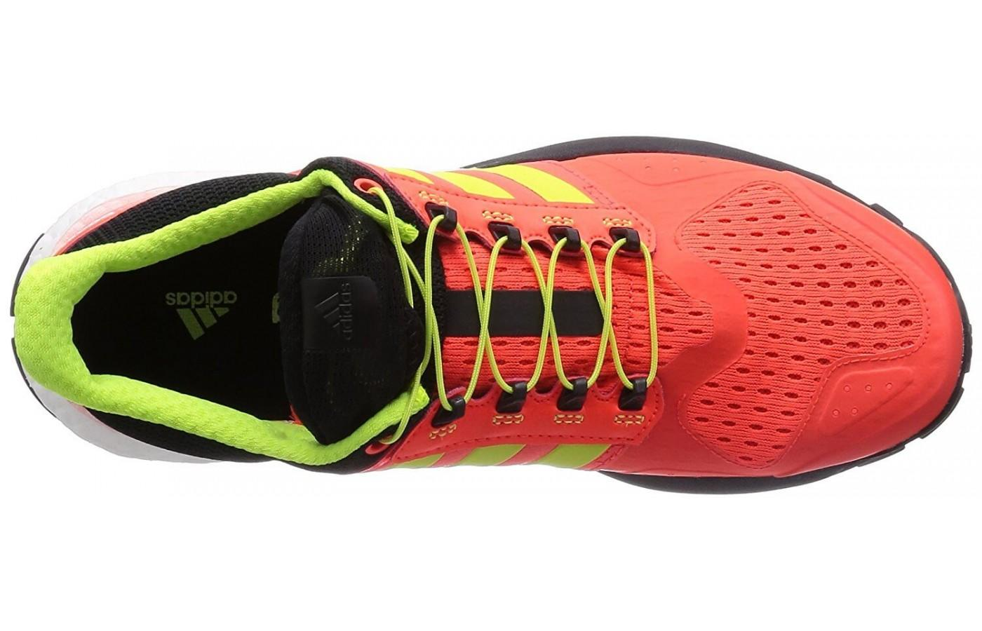 Adidas Adistar Raven has an upper that's breathable and protective