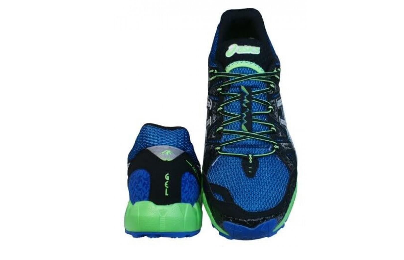Upper is breathable yet protects your foot