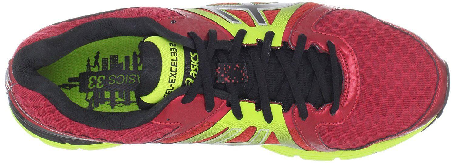 Lacing system Of Asics Gel Excel33