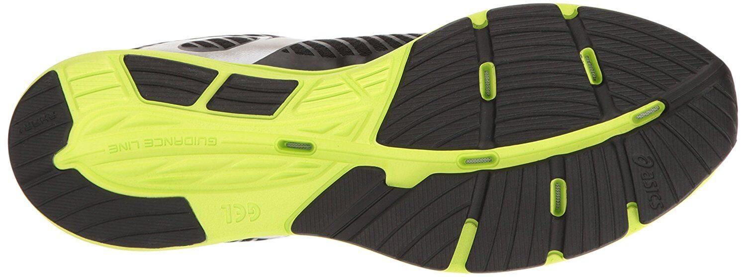 Outsole of Asics Gel Hyper Tri 3 is flexible and durable