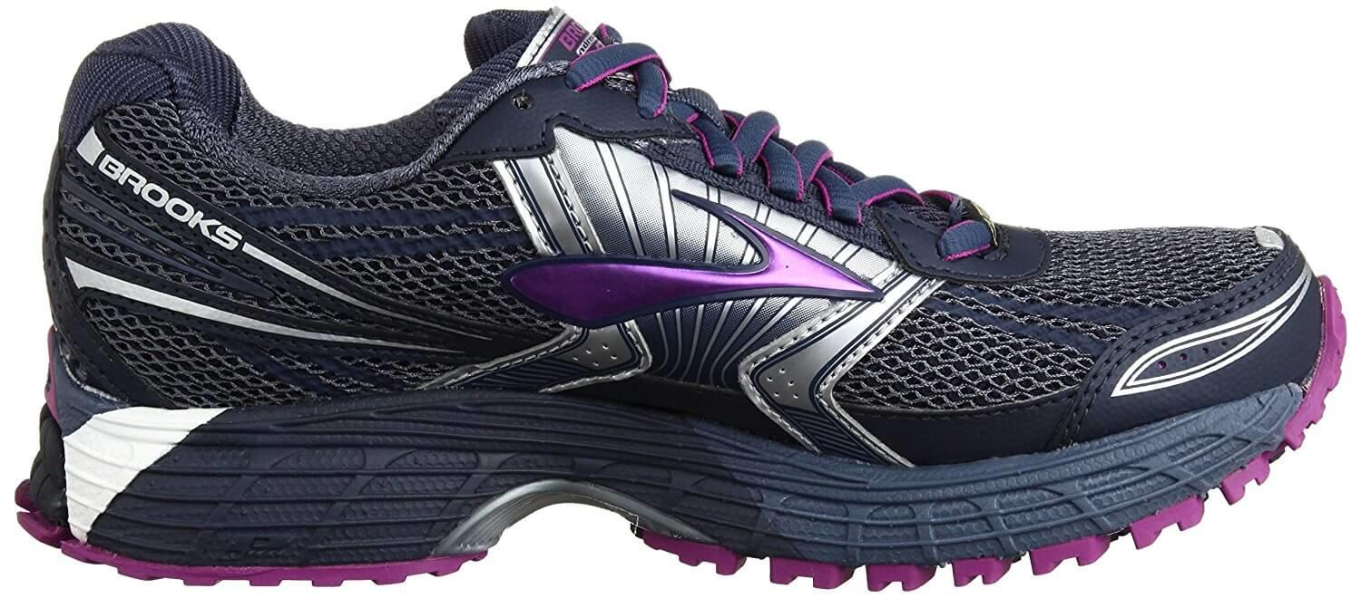 a good look at the side of the Brooks Adrenaline ASR 11 GTX