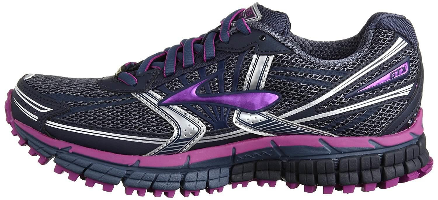 the Brooks Adrenaline ASR 11 GTX has anatomical DNA for a customized fit