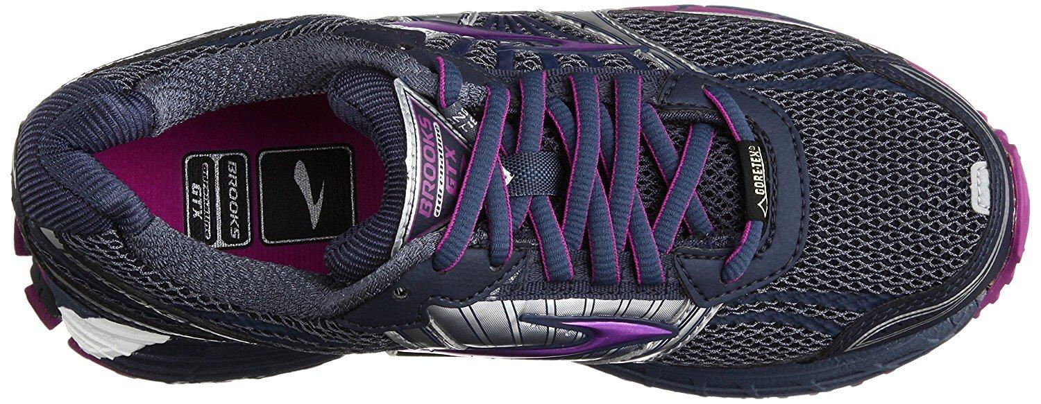 the Brooks Adrenaline ASR 11 GTX is both breathable and waterproof