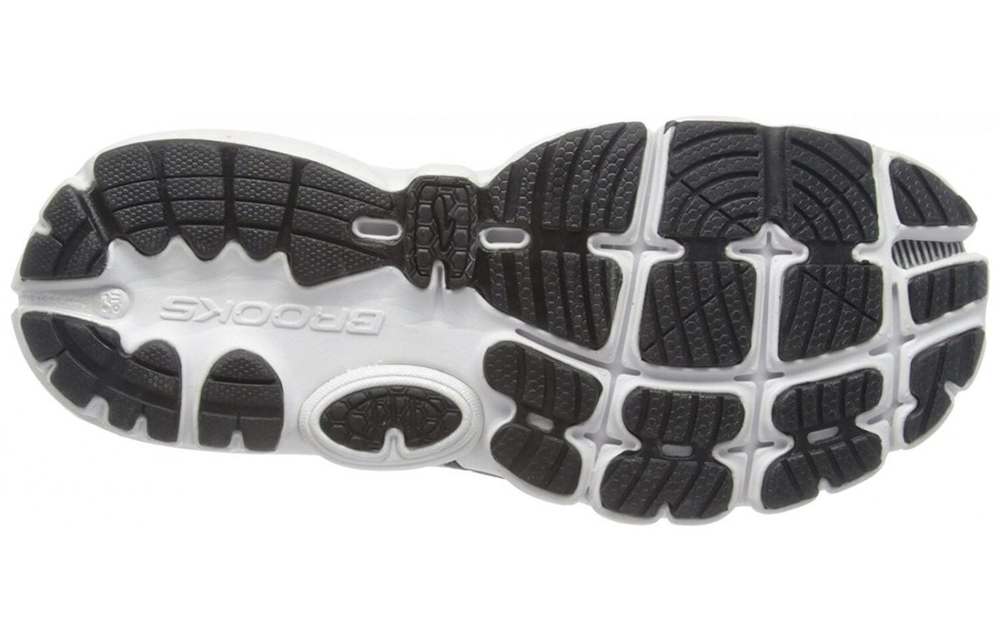 Traction focused outsole of the Brooks PureCadence
