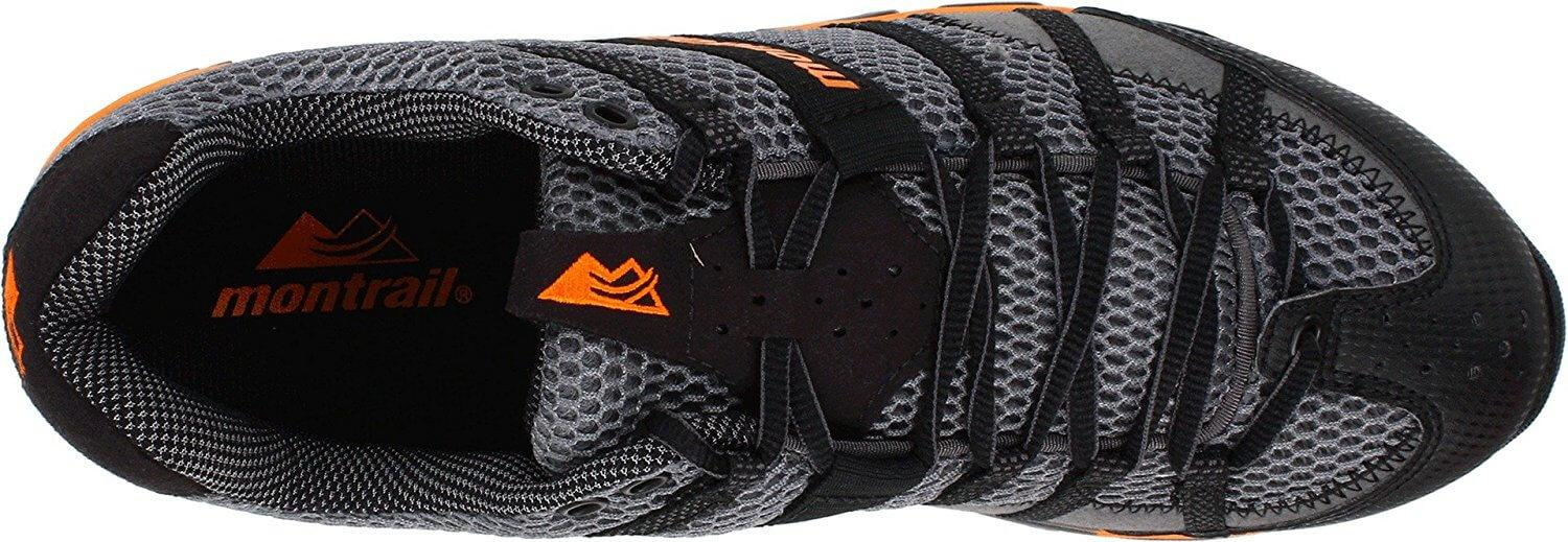 Breathable and Protective Upper of the Montrail Mountain Masochist II